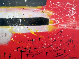 CARBONERO Firmamento Acrylic on Canvas 28.5 x 23.5