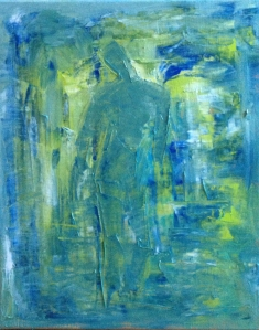 FOSLI Anticipation Oil on Canvas 19.7 x 15.7