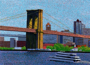KIM Brooklyn_Bridge_New_York 28.6 x 20.9 Oil_on_canvas_2013