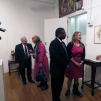The Honorable Sir Herman Amos, Jr., U.S. Department of Justice - U.S. Attorney's Office- Financial Investigator,celebrating Amsterdam Whitney Gallery's Valentine's Fete